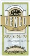 GENCO OLIO DI OLI VA EXTRA VIRGEN OLIVE OI OLIVE OIL PRODUCT OF ITALY 12 OZ 16 ML