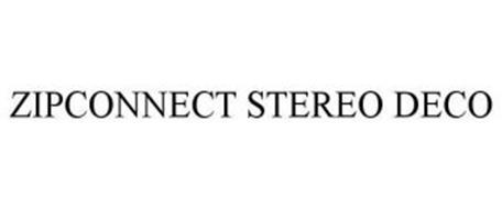 ZIPCONNECT STEREO DECO