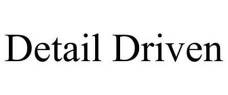DETAIL DRIVEN