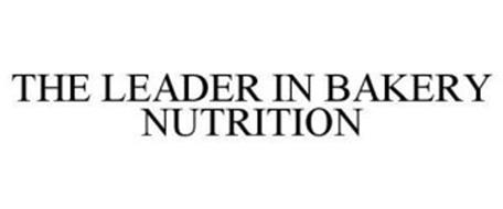 THE LEADER IN BAKERY NUTRITION