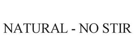 NATURAL - NO STIR