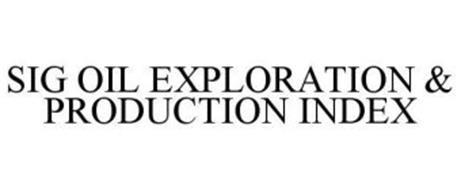 SIG OIL EXPLORATION & PRODUCTION INDEX