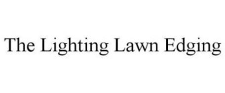 THE LIGHTING LAWN EDGING