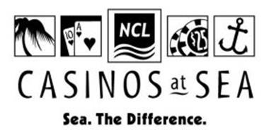 CASINOS AT SEA SEA. THE DIFFERENCE. NCL