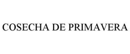 COSECHA DE PRIMAVERA