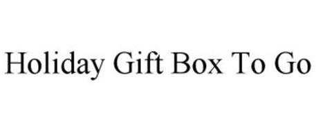 HOLIDAY GIFT BOX TO GO