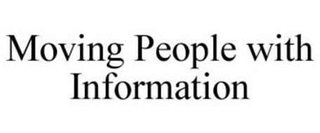 MOVING PEOPLE WITH INFORMATION