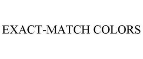 EXACT-MATCH COLORS