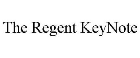 THE REGENT KEYNOTE