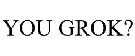 YOU GROK?