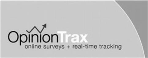 OPINIONTRAX ONLINE SURVEYS + REAL-TIME TRACKING