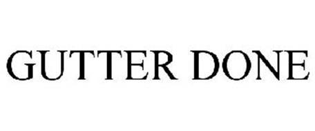 GUTTER DONE