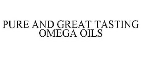 PURE AND GREAT TASTING OMEGA OILS