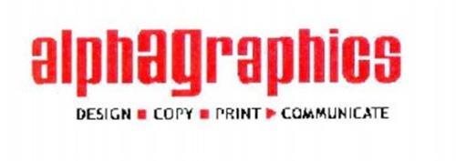 ALPHAGRAPHICS DESIGN COPY PRINT COMMUNICATE
