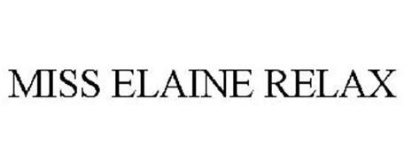 MISS ELAINE RELAX