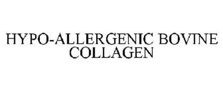 HYPO-ALLERGENIC BOVINE COLLAGEN