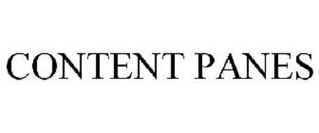 CONTENT PANES