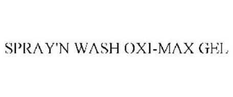SPRAY'N WASH OXI-MAX GEL