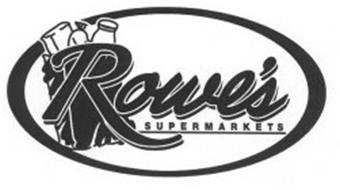 rowes supermarkets
