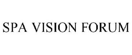 SPA VISION FORUM