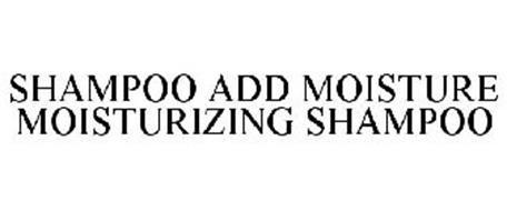 SHAMPOO ADD MOISTURE MOISTURIZING SHAMPOO