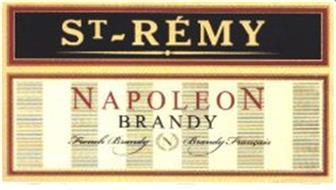 ST-RÉMY NAPOLEON BRANDY FRENCH BRANDY N BRANDY FRANÇAIS