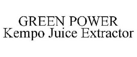 GREEN POWER KEMPO JUICE EXTRACTOR
