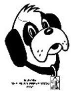 BURNIE THE BURN PREVENTION DOG