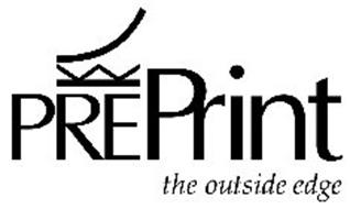 PREPRINT THE OUTSIDE EDGE