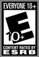 E 10+ EVERYONE 10+ CONTENT RATED BY ESRB