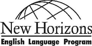 NEW HORIZONS ENGLISH LANGUAGE PROGRAM
