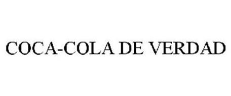 COCA-COLA DE VERDAD