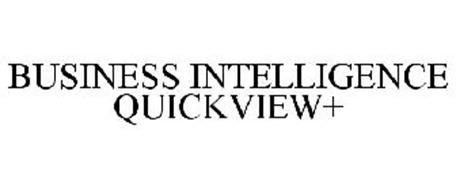 BUSINESS INTELLIGENCE QUICKVIEW+