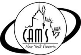 CAMS NEW YORK PIZZERIA SINCE 1980