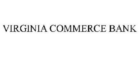 VIRGINIA COMMERCE BANK