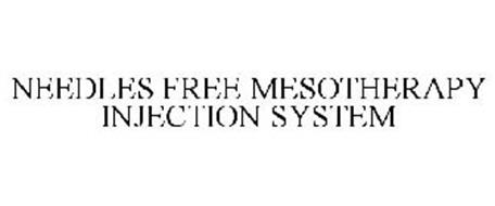 NEEDLES FREE MESOTHERAPY INJECTION SYSTEM