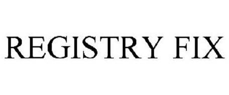 REGISTRY FIX