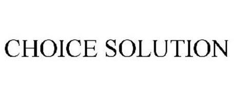 CHOICE SOLUTION