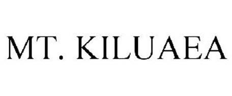 MT. KILUAEA