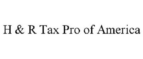 H & R TAX PRO OF AMERICA