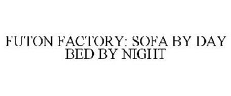 FUTON FACTORY: SOFA BY DAY BED BY NIGHT
