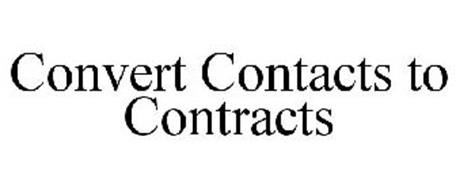 CONVERT CONTACTS TO CONTRACTS