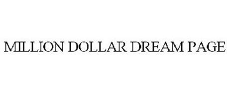 MILLION DOLLAR DREAM PAGE
