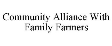 COMMUNITY ALLIANCE WITH FAMILY FARMERS