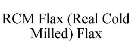 RCM FLAX (REAL COLD MILLED) FLAX