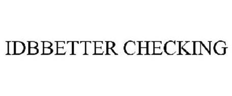 IDBBETTER CHECKING