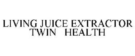 LIVING JUICE EXTRACTOR TWIN HEALTH