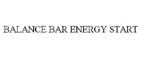 BALANCE BAR ENERGY START