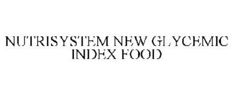 NUTRISYSTEM NEW GLYCEMIC INDEX FOOD
