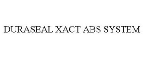 DURASEAL XACT ABS SYSTEM
